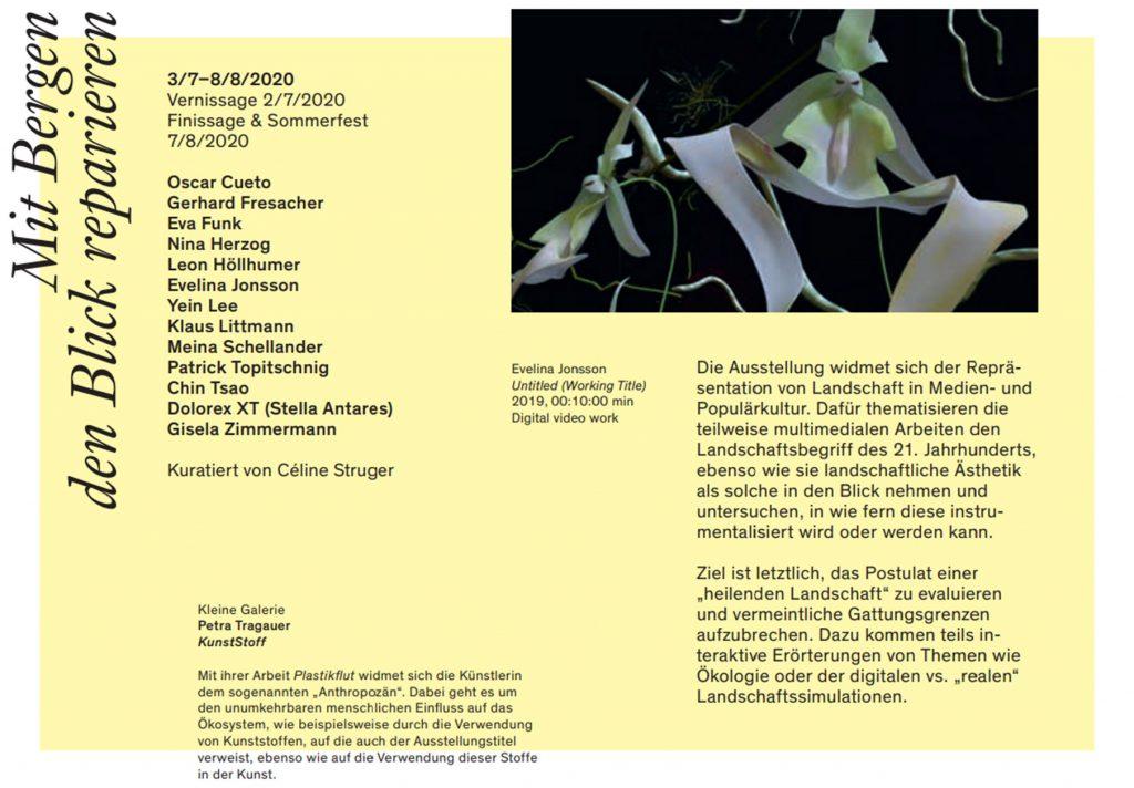 Jahresprogrammheft Kunstverein Kärnten